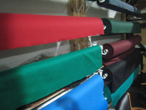 Ocala pool table recovering table cloth colors