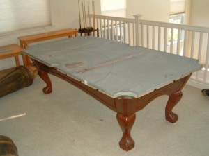 Proper pool table moving process in Ocala Florida